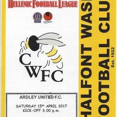 Chalfont Wasps v Ardley Utd 15.04.2017