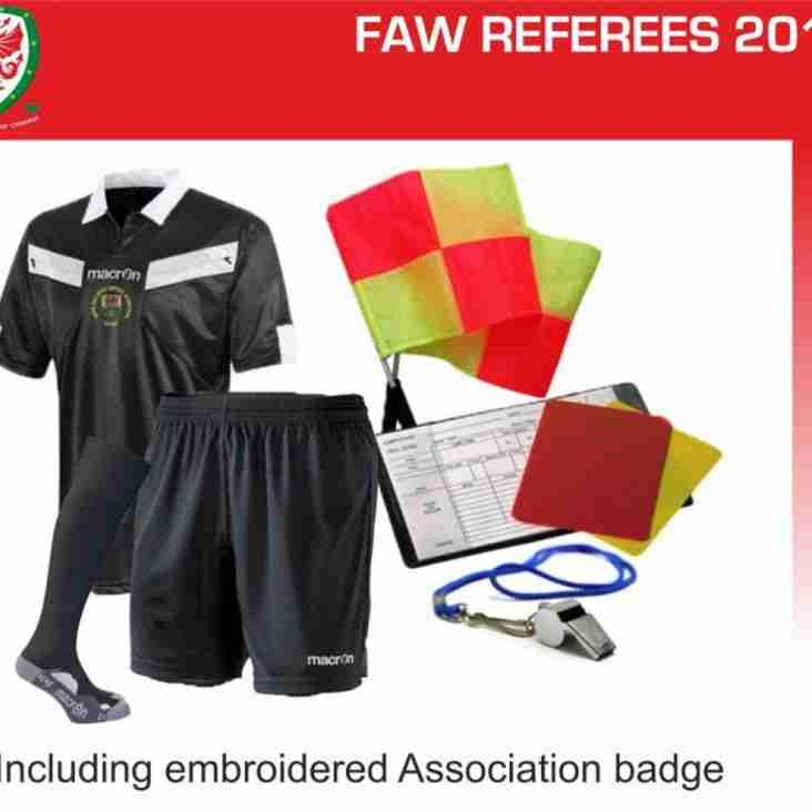 NWCFA Urgently Looking for New Referees.