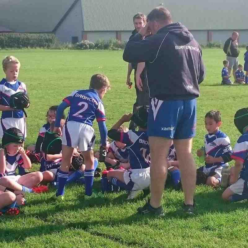 2015/09/20 - u8s v Wigan Bulldogs (H)
