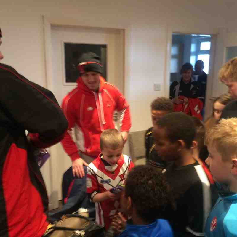 2016/04/06 - Salford Red Devils Foundation Visit