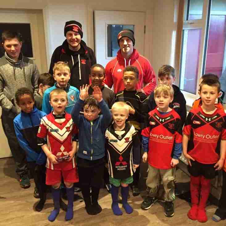 Young Broncos have fantastic half term with Red Devils