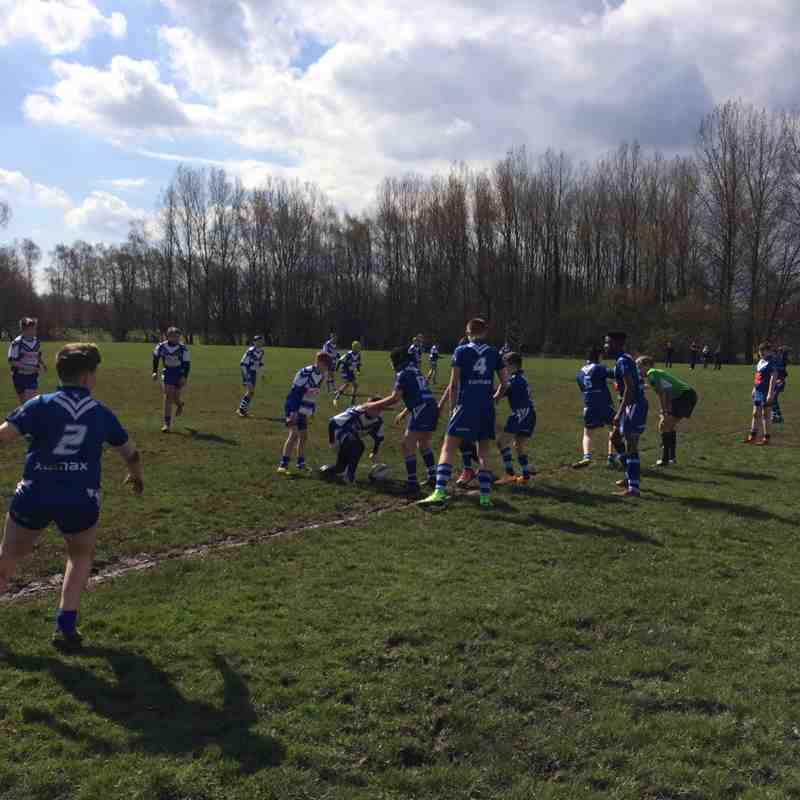 2016/04/17 - U13s v Widnes Moorfield (H) - CUP