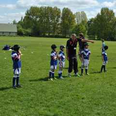 Under 7s play for the first time