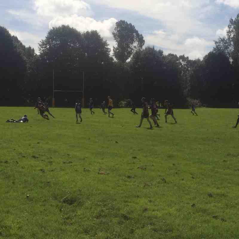 2016/09/11 - U13 v Leyland Warriors (H)