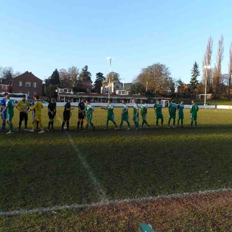 Bedworth United v Brigg Town November 2013