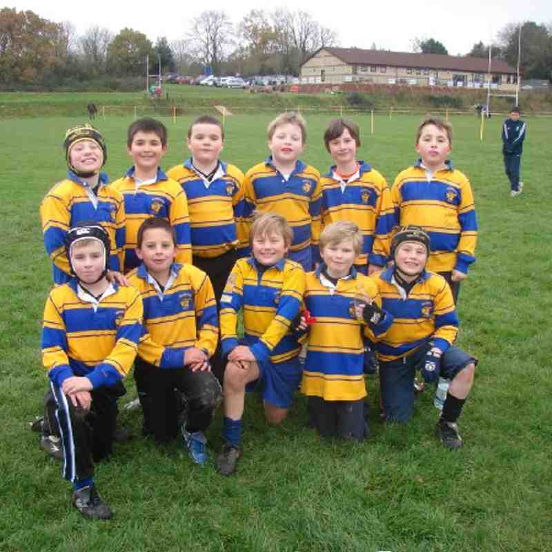 Warminster u9s vs Castle Cary u9s