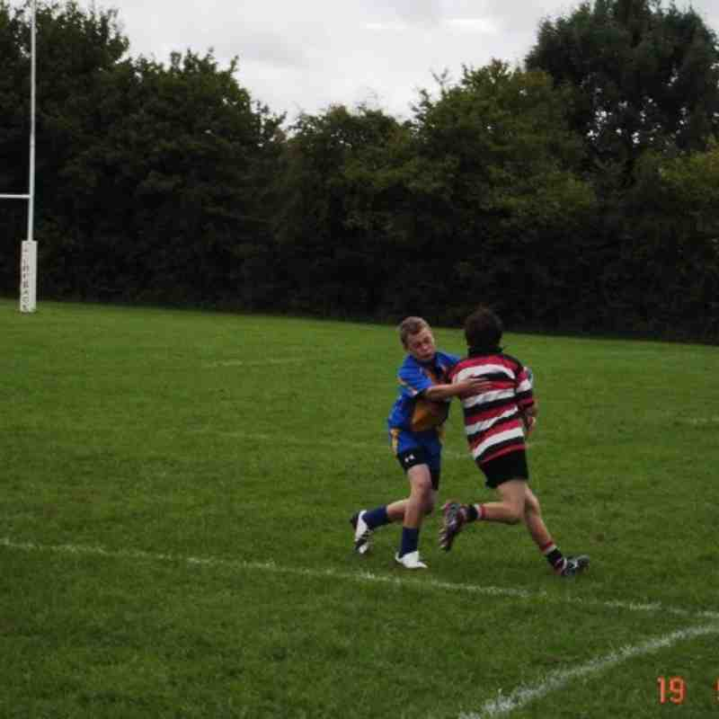 Warminster u14s vs Frome u14s