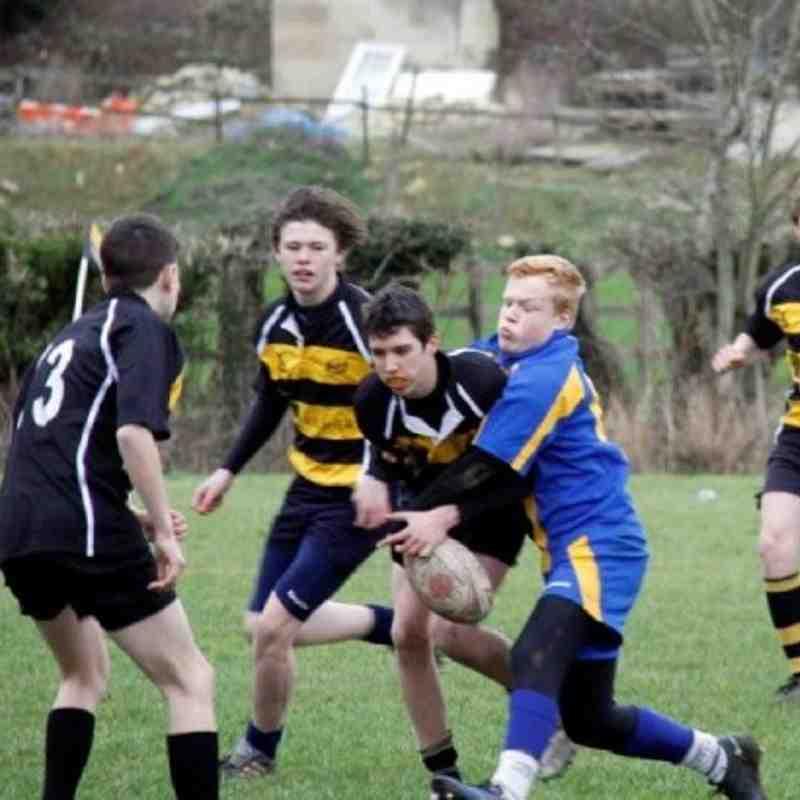 Avon 14s vs Warminster u14s