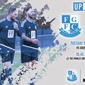 Up Next - Frimley Green V Sheerwater  Tuesday 9th October 7:45pm