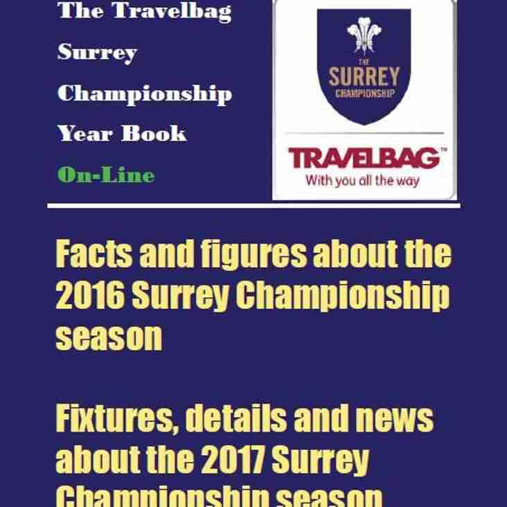 Surrey Championship Year Book 2017