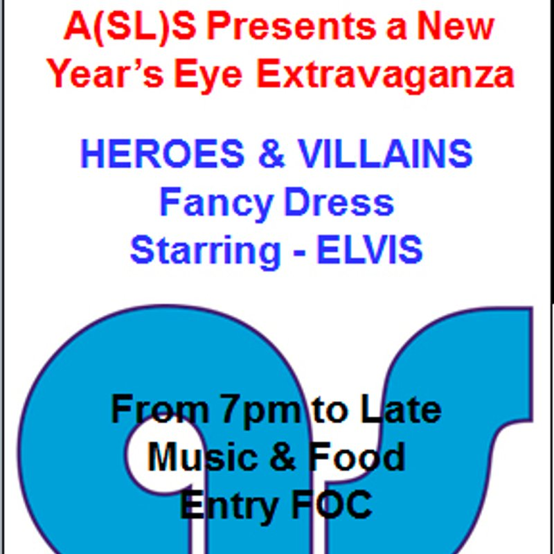 Meet ELVIS at New Year's Eve