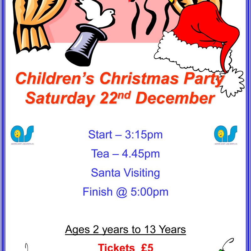 A(SL)S Children's Christmas Party