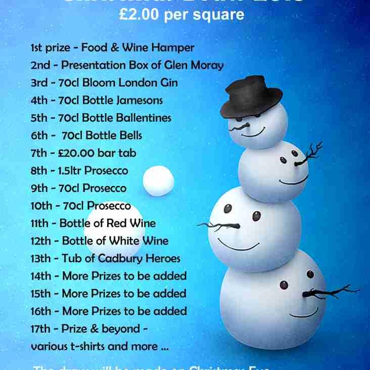 Ashford (Short Lane) Sports Christmas Draw