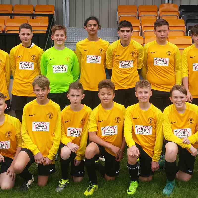 Racing Club Warwick U14's 2017/18