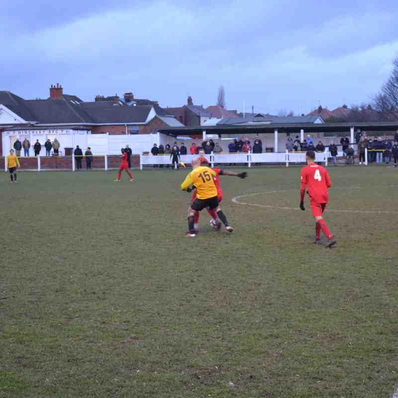 Hinckley AFC Away 09/02/2019 MFL