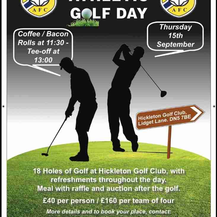 Annual Frickley Athletic golf day 2016