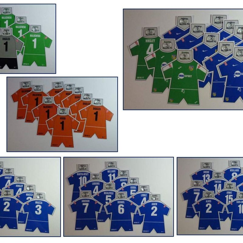 Mini kits ordered in December are available for collection