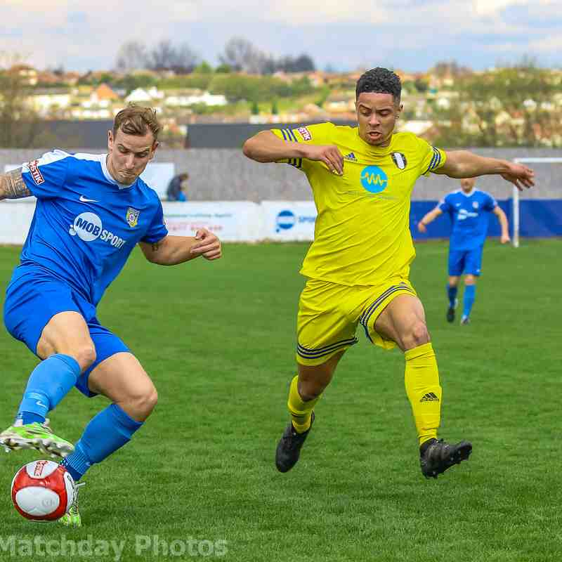 Frickley 0 Grantham 2 -  01/04/17
