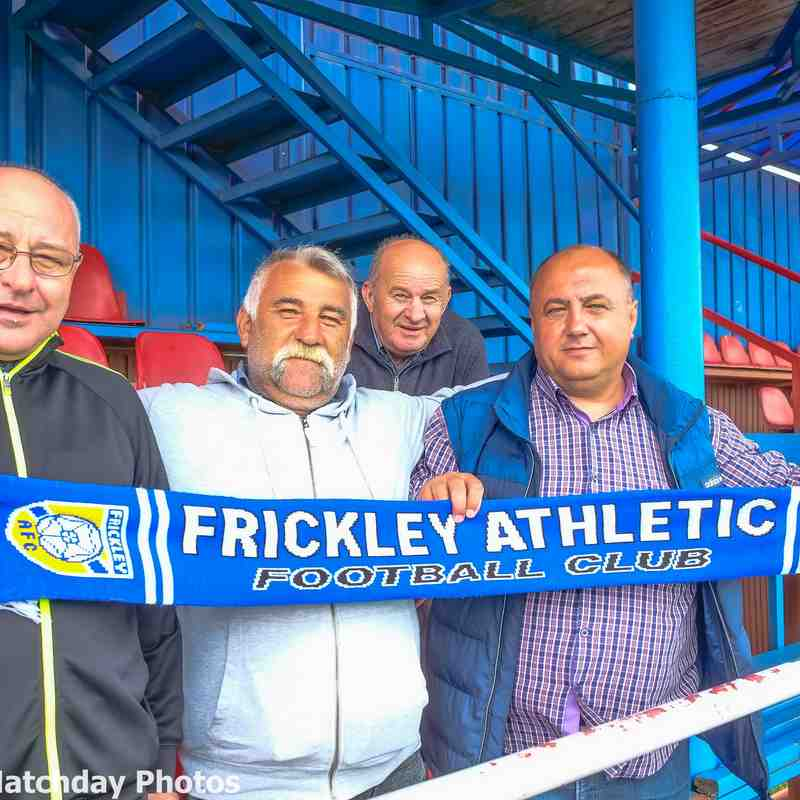 Frickley fans in Romania !