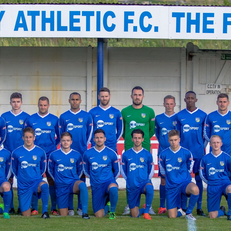 Frickley 1st Team Squad 2017-18 Season