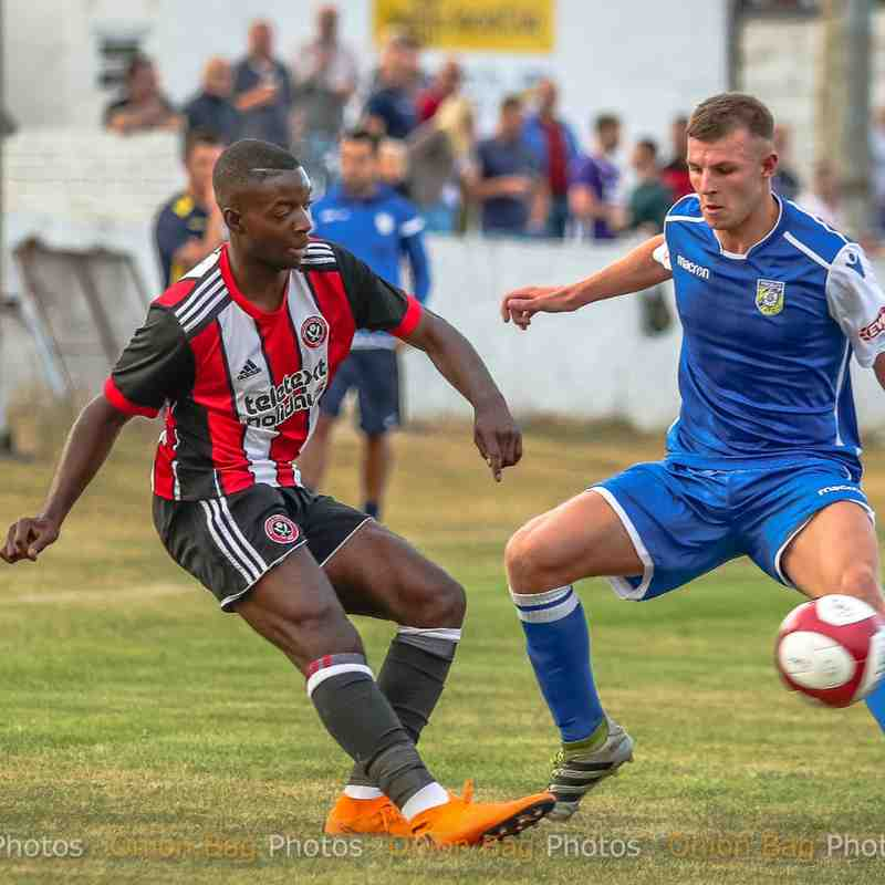 Frickley 2 Sheffield United 3 - PSF 20/07/18