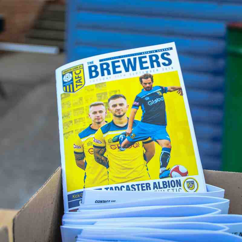 Tadcaster Albion 4 - Frickley 0    11/09/18