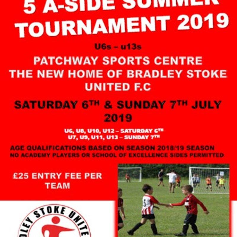 Bradley Stoke United Annual Festival of Football Tournament 2019