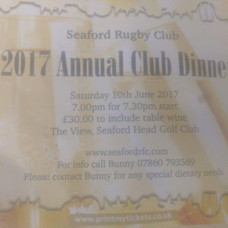 Seaford Annual Dinner