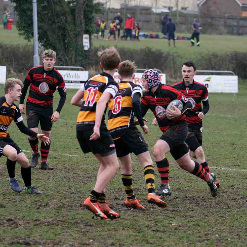Eastern Counties Plate Final. Wymondham Wolverines V Southwold 12/3/17