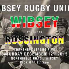 Wibsey 21 - 3 Rossington Hornets - Report