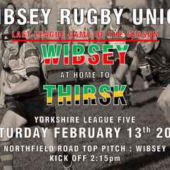 Wibsey 40 - 0 Thirsk - Report