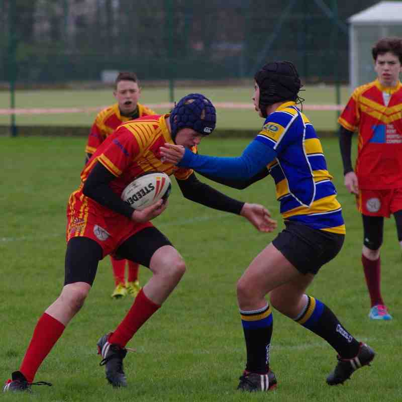 Drogaons U13's vers Rutlish Raiders in the Cup