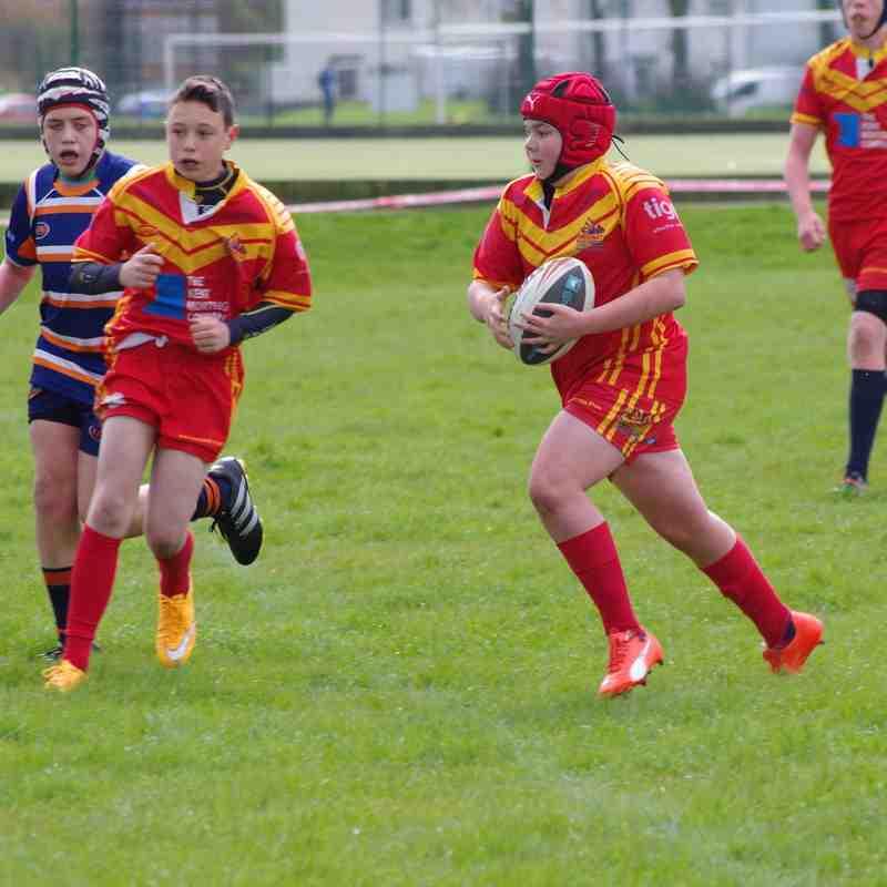 Dragons U13's vers Brentwood