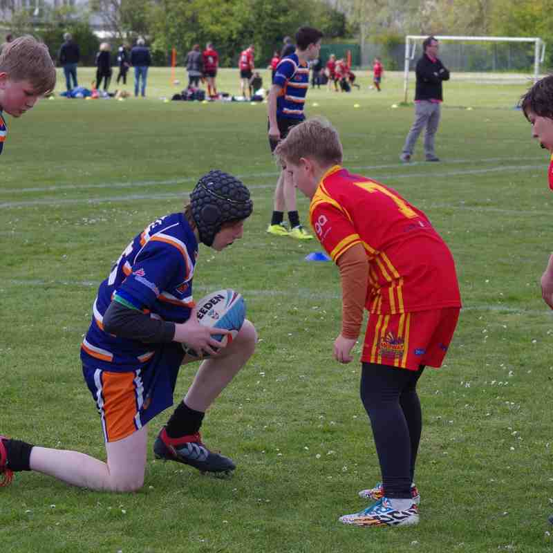 Dragons U13's Vers Brentwood 30th April