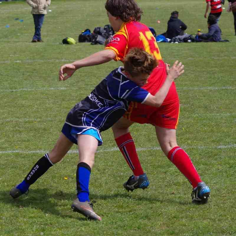 Dragons U13's Vers Surrey Sharks 30th April