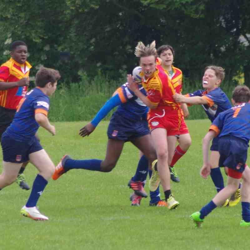 U13's vers Brentwood Away (June)