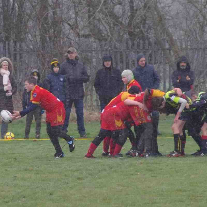 Dragons U13's Away to Invicta Panthers March 2018