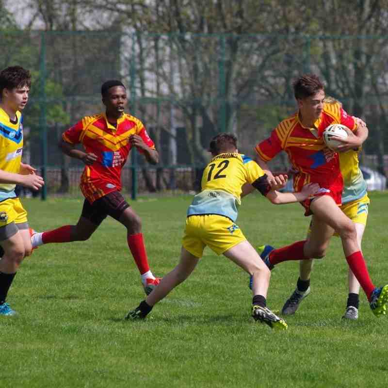 U14's vers St Albans home April 2018