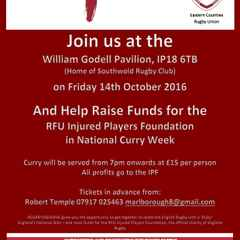 Curry Me Home Event at Southwold Rugby