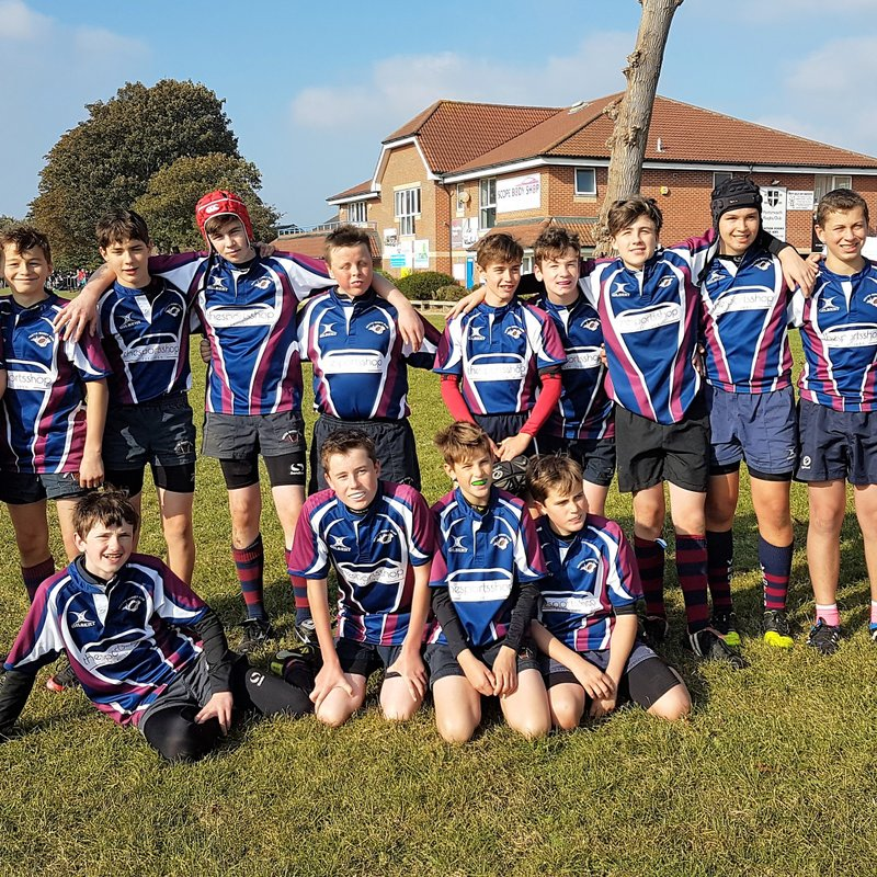Further success for under 14s.