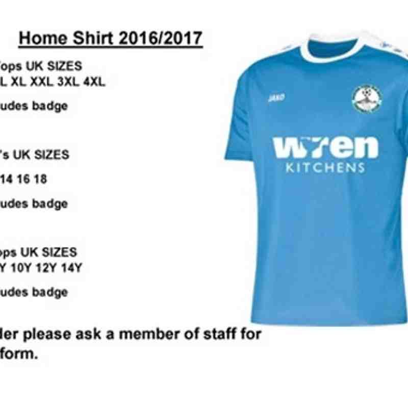 Barton Merchandise 2016/17
