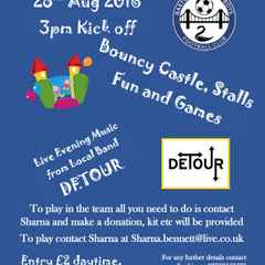 Upcoming Event | Barton Ladies vs Barton Business | Family Fun Day With Evening Local Live Band Detour | Sunday 28th August