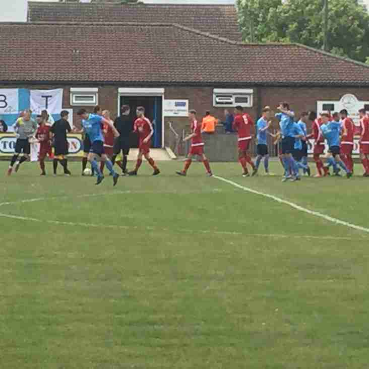 Match Report   Barton Town Old Boys vs. Albion Sports   Saturday 20th August
