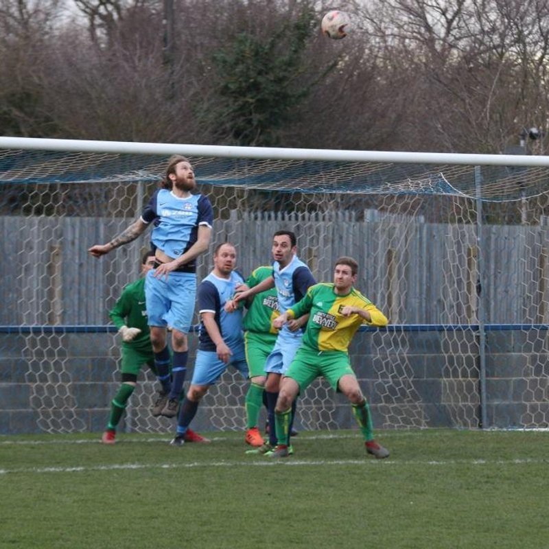 Reserves 3-0 Easington United - Ressies Stay Top With Comprehensive Win