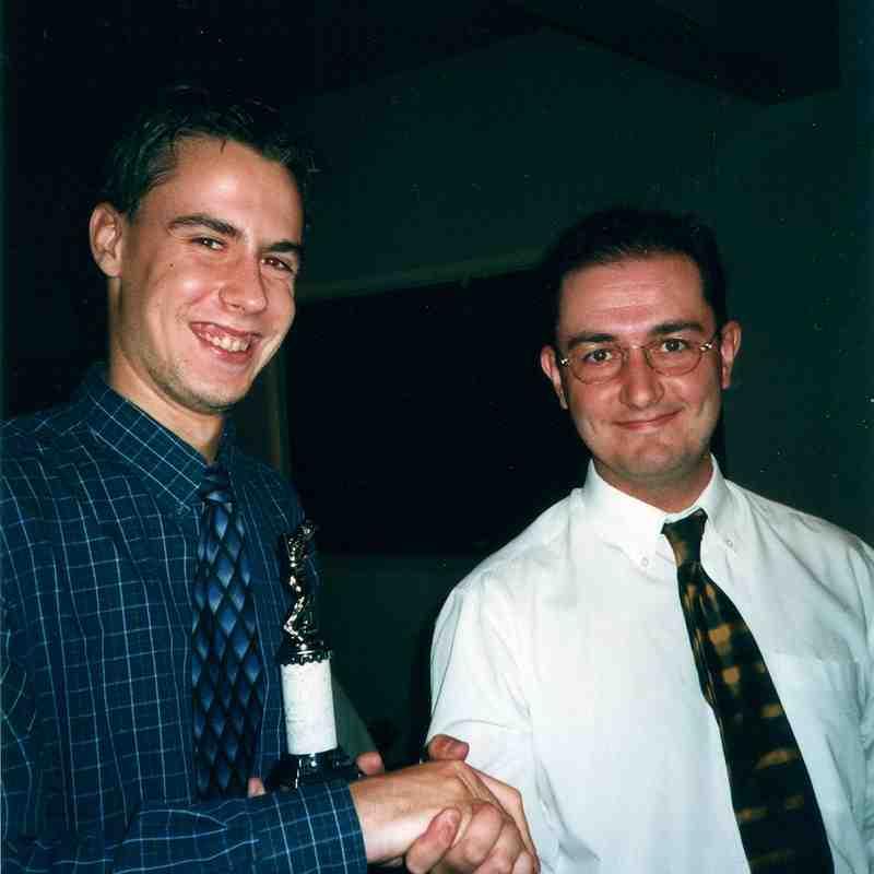 Awards night 2001?