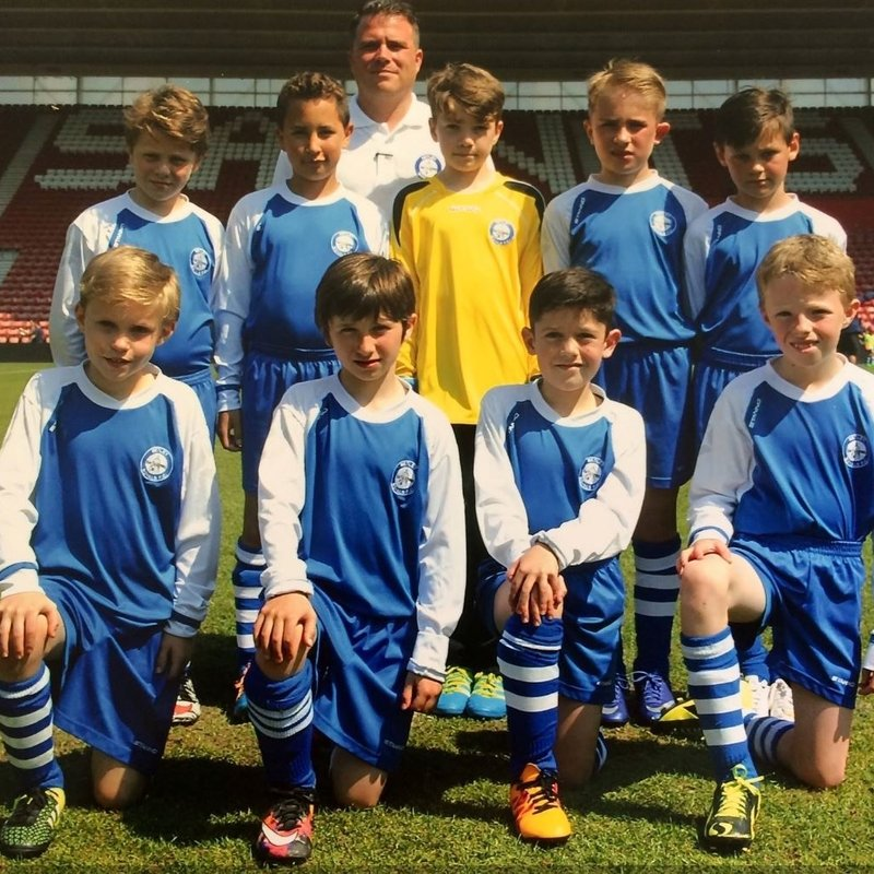 Under 10's White lose to Winsor United Green 2 - 1