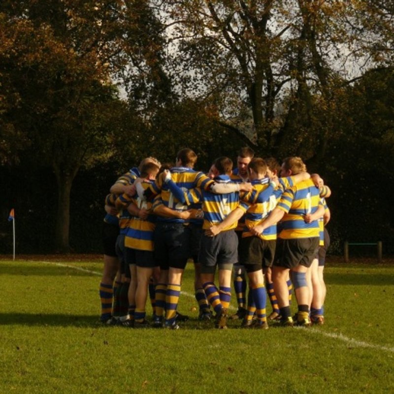 1st XV beat Westbury-on-Severn 29 - 22