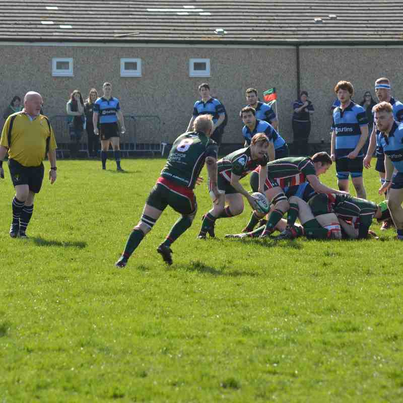 1st XV v Collegiate 1st April 2017