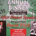 Hoylake Annual Dinner - 25th November