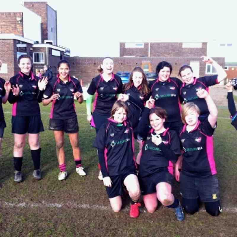Hinckley Vixens First win